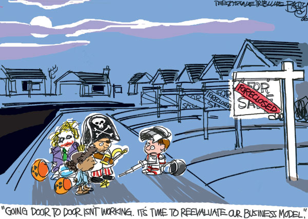 More than words: very funny political cartoons of 2010–Obama hope ...